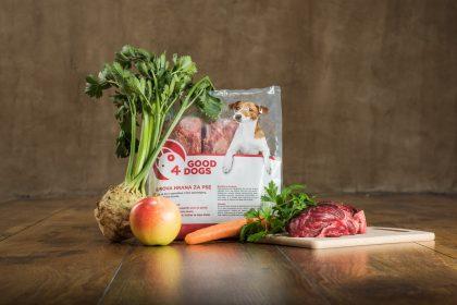 Govedina - Surova hrana za pse Good4Dogs