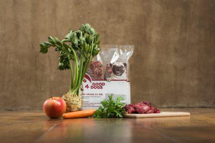 Divjačina - Surova hrana za pse Good4Dogs